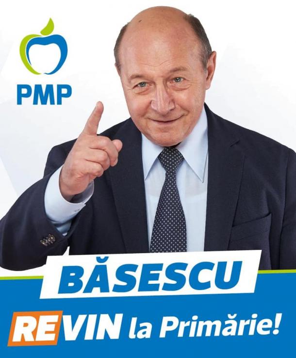 Traian Basescu in campanie